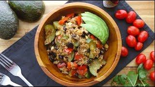 One pot vegan burrito bowl I The Buddhist Chef