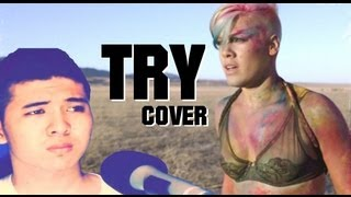 Try - Pink (cover by Ivan Ortiz) (Jamie Cleaton Instrumental) Give Me A Reason