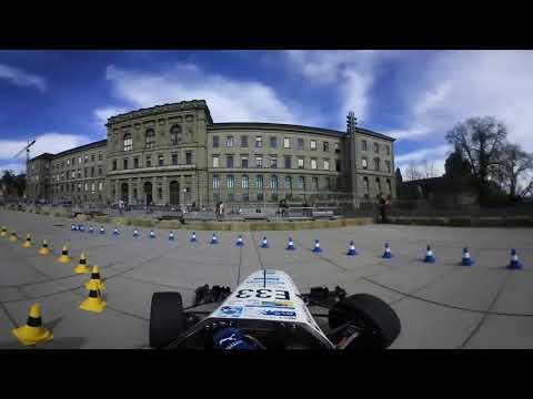«pilatus» Showrun on Polyterrasse of ETH Zürich (360° VR Video)