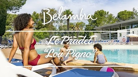 Club de vacances Belambra Le Pradet « Lou Pigno » - Côte d'Azur, Var, plage, mer