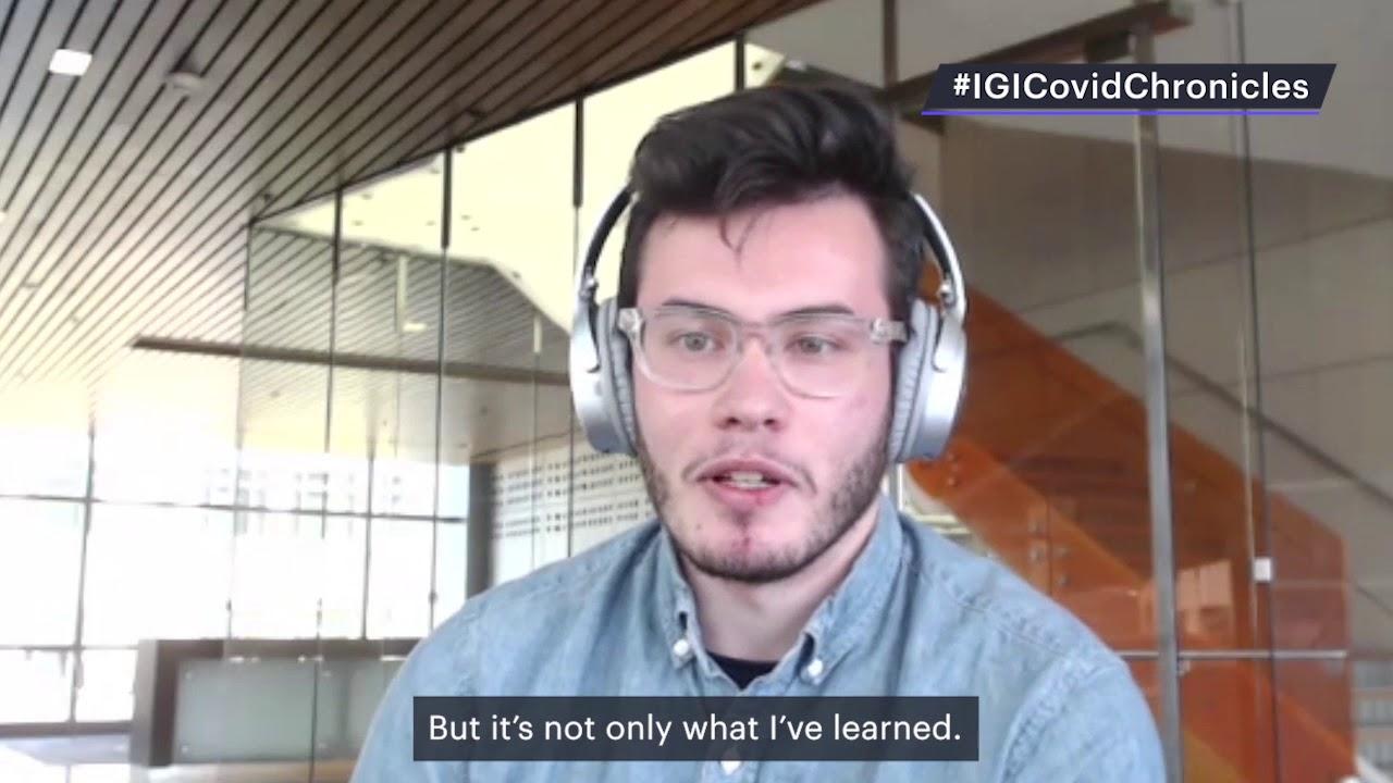 What Basem Al-Shayeb learned as an IGI COVID-19 testing lab volunteer