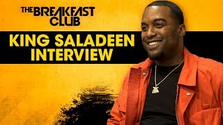 King Saladeen Talks Art Symbolism, Inspiration And His Journey As A Visionary