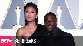 Eniko Hart Gets Dragged By Kevin Hart