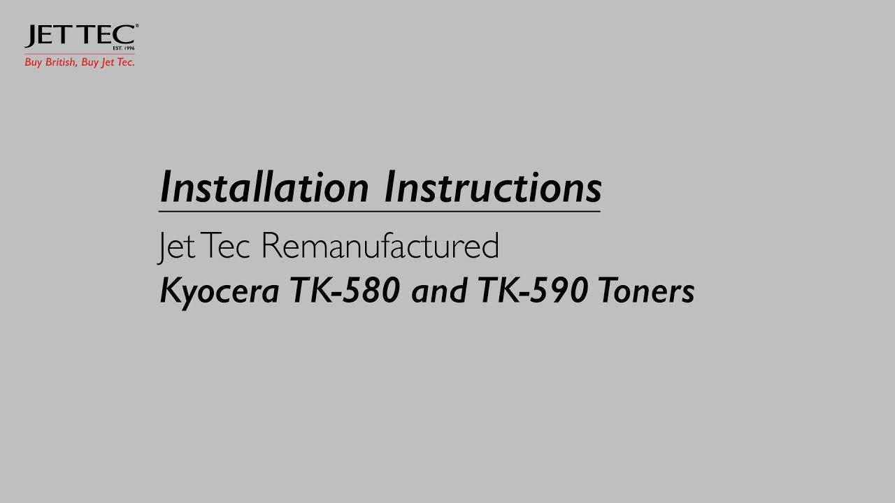 Kyocera ECOSYS P 2035 d Toner TK160 - YouTube