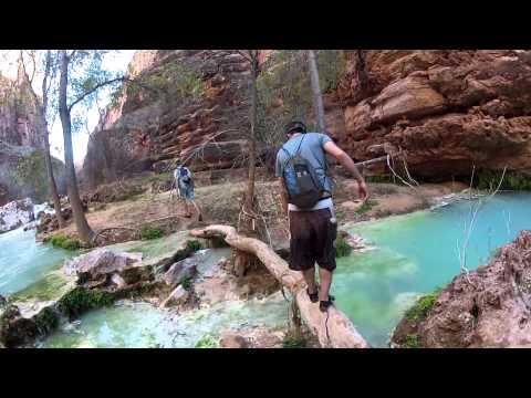 Supai Arizona - Havasu Falls backpacking trip 2013