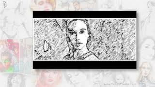 Pencil Pixels Storyboard Art Wonder Woman video