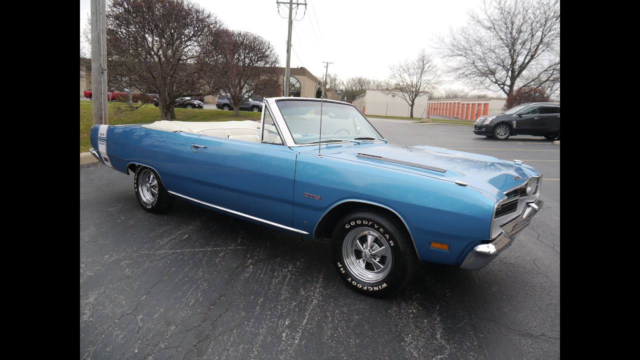 1969 dodge dart gts convertible sold sold sold youtube sciox Images