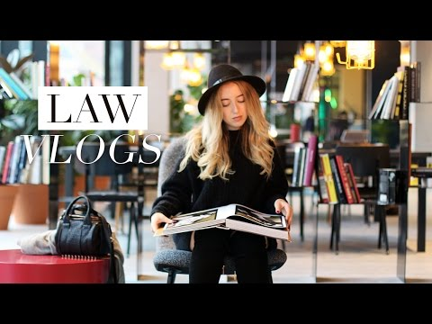 LAW SCHOOL VLOG #23 | Philosophy Lecture & Library Study Session