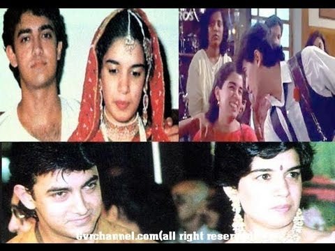 Actor Aamir Khan With First Wife Gallery