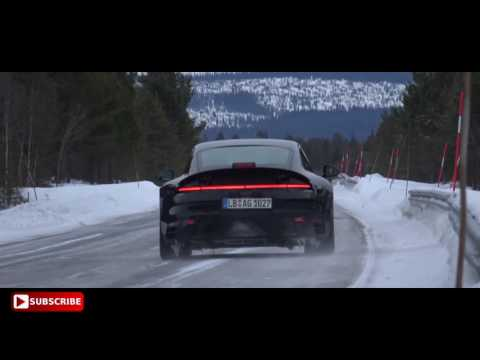 Porsche 992 In Action - Spy Video - Next Generation Porsche 911
