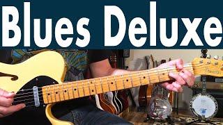 How To Play Blues Deluxe On Guitar | Joe Bonamassa Blues Guitar Lesson + Tutorial
