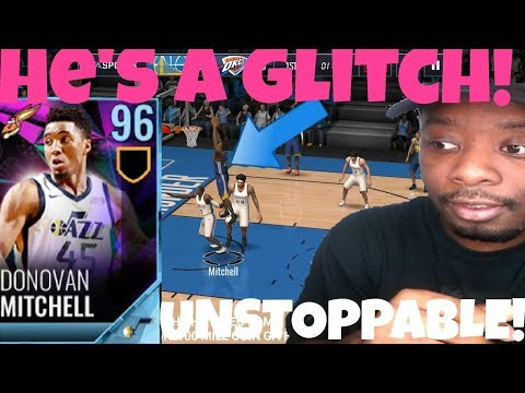Meet 96 Donovan Mitchell in nba live mobile 18(Gameplay)Easter promo