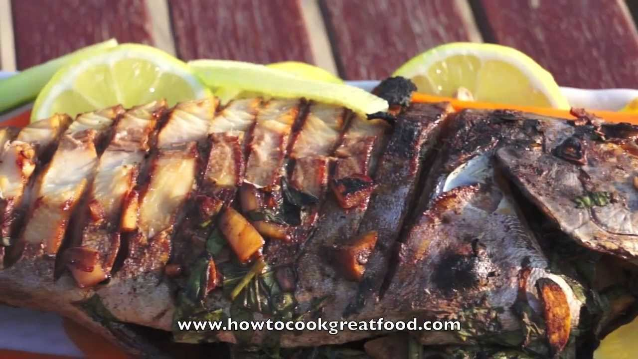 Asian Food Easy Whole Fish Bbq Or Baked Recipes Youtube