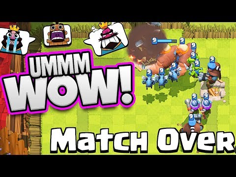 the BIGGEST EVER Giant Push -  CLASH ROYALE