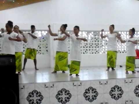 faaevagalia spiritual performance of Vaiteleuta Methodist youth, footage by Mumana Tafea Malolo