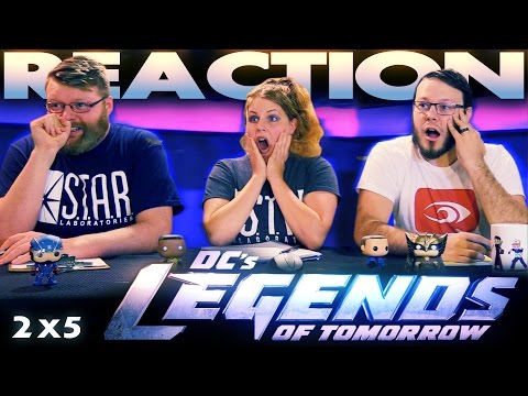 """Legends of Tomorrow 2x5 REACTION!! """"Compromised"""""""