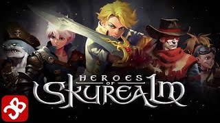 Heroes of Skyrealm is a team-based mobile game that combines the ac...