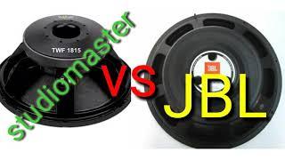 JBL Vs STUDIOMASTER SPEAKER in hindi