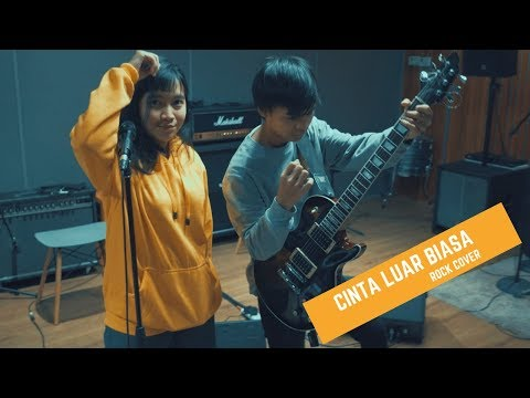Cinta Luar Biasa (Andmesh) - Versi Rock - Cover By Jeje GuitarAddict Ft Tika Nistia