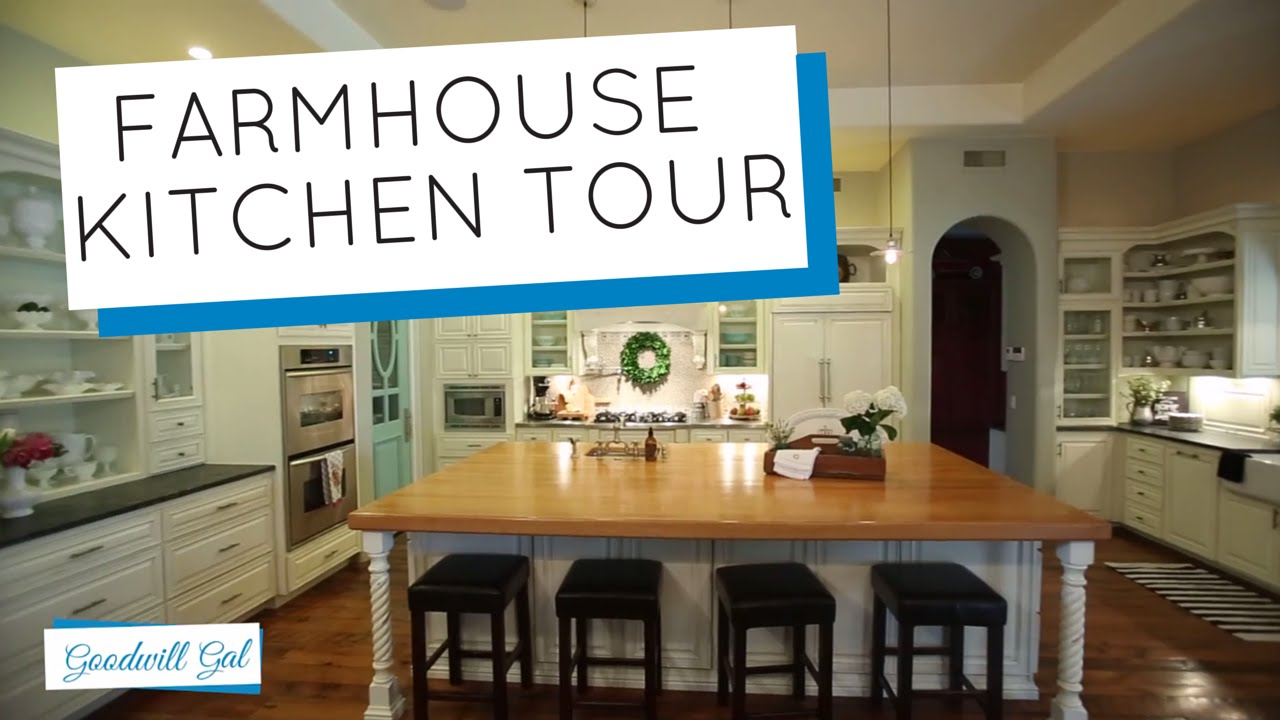 Farm House Kitchen My Farmhouse Kitchen Tour Youtube