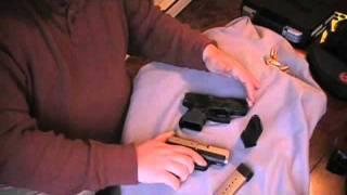 glock 26 vs kahr cm9 size and feature comparison
