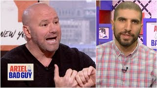 Oscar De La Hoya feud bringing fire out of Dana White | Ariel & The Bad Guy