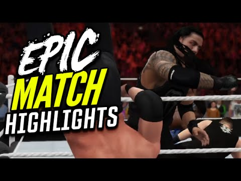 WWE Royal Rumble 2016 | Epic Match Highlights!