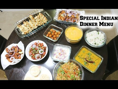 Special Indian Dinner Menu For Guest/Start To Finish/What I Prepare