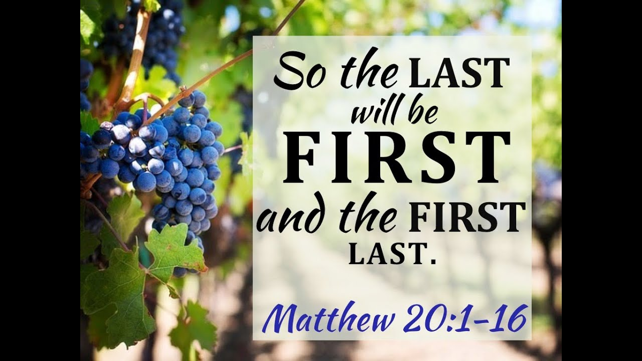 Image result for so the last will be first