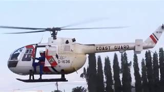 Philippine Coast Guard BO-105 Helicopter Demonstration