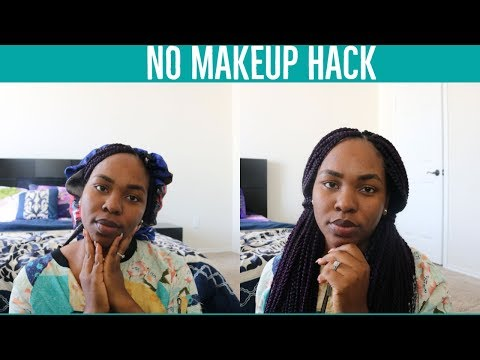 How to look beautiful without makeup || No makeup hack