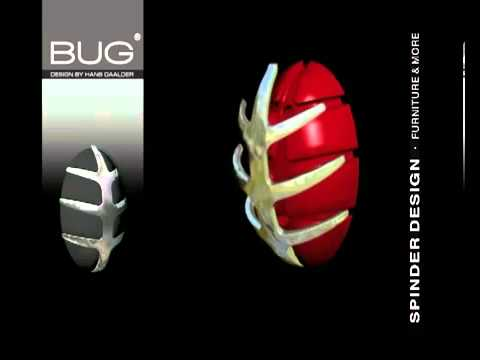 Spinder Design Kapstok : Kapstok bug en tick van spinder design youtube