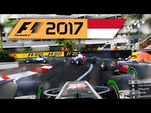 SAFETY-CAR + Regen | Monaco 1/2 🎮 F1 2017 #17