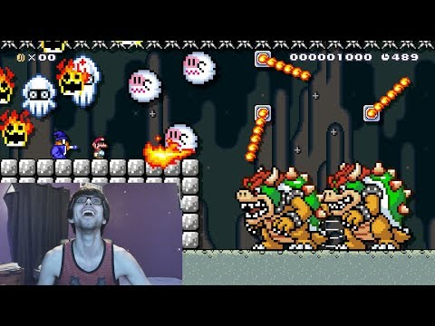 🕹️🔴100 Man Expert Runs - Mario Maker🕹️