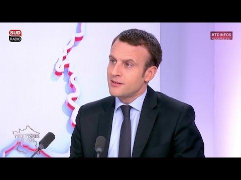 Emmanuel Macron à propos de l'épargne financière française