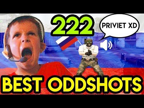 "CSGO - ""RUSSIAN KIDS SINGING ANTHEM"" - BEST ODDSHOTS #222"