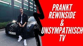 inscope21 PRANKT Rewi, UnsympathischTV und EinfachPeter😂| Fortnite Gameplay