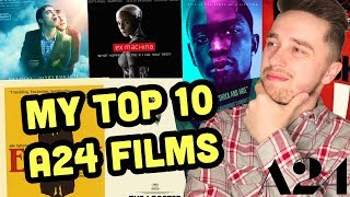 Top 10 A24 Movies Video
