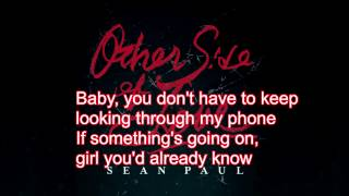 Sean Paul - Other Side Of Love (Lyrics)