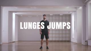 Online Fitness I How To I Lunges Jumps