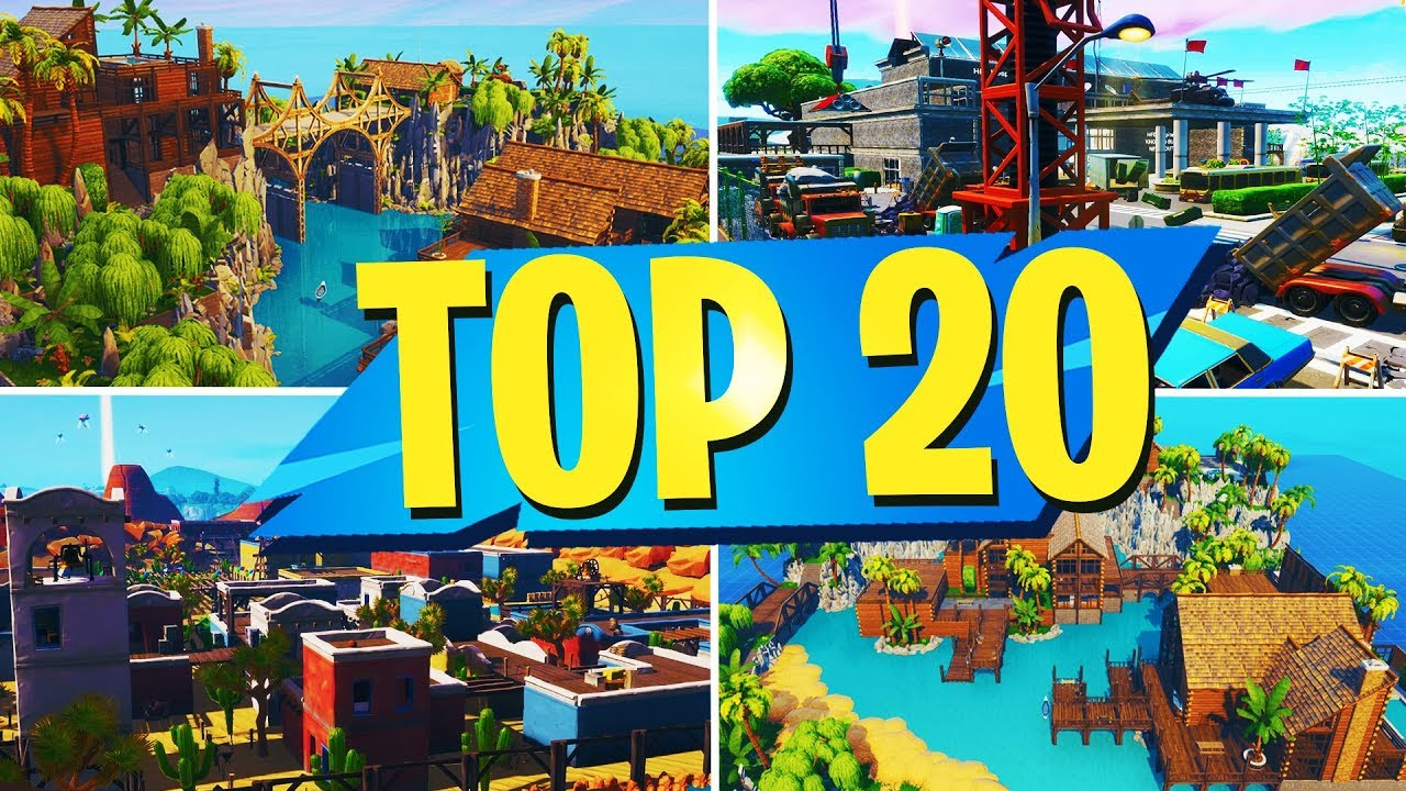 TOP 20 BEST PROP HUNT Creative Maps In Fortnite | NEW MAPS ...