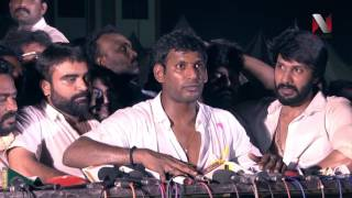 Vishal Challenges Tamilrockers | Actor Vishal elected as president of producers council