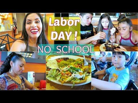 Labor Day ! Nos Fuimos a Comer 🍝 - Septiembre 5, 2016 ♡IsabelVlogs♡