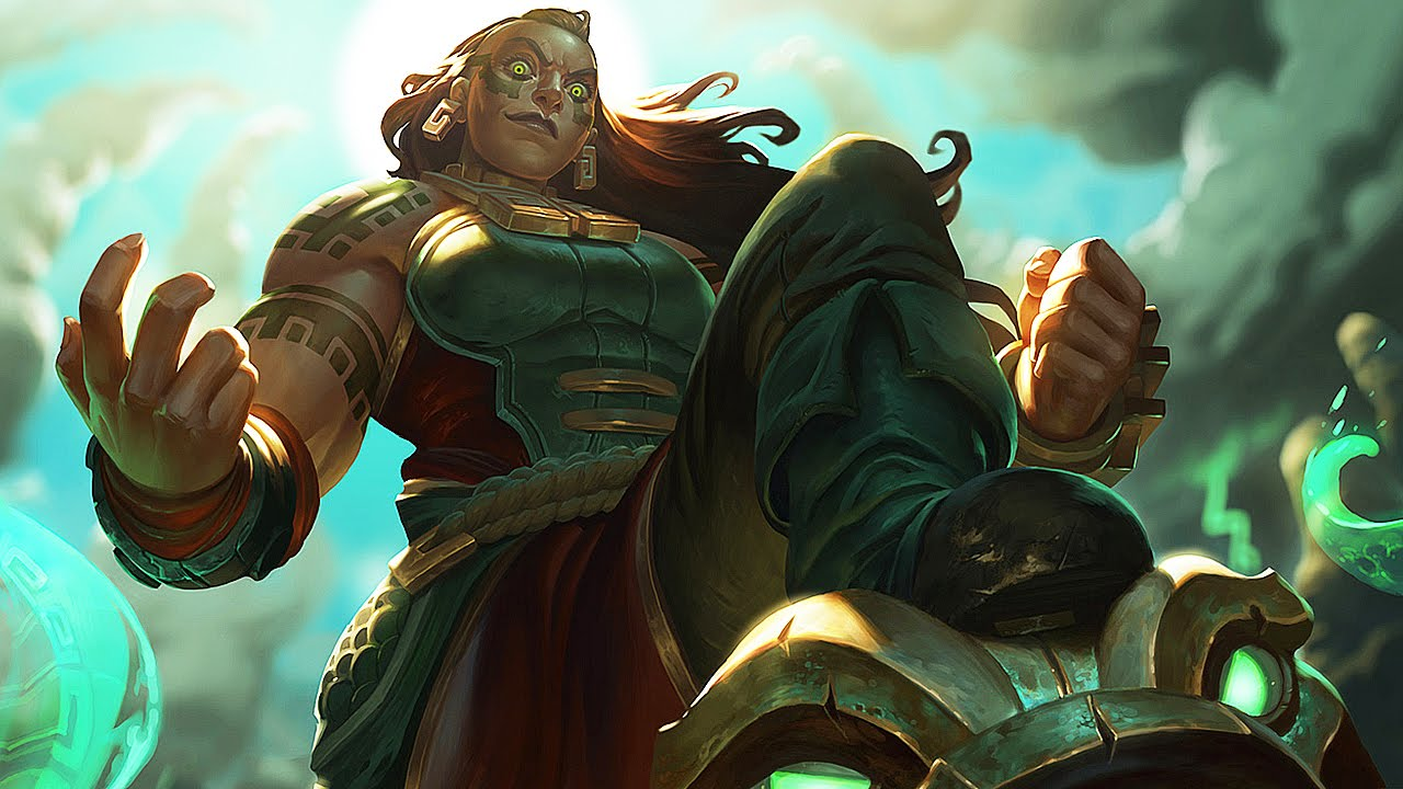 LEAGUE OF LEGENDS - Illaoi Trailer VF - YouTube