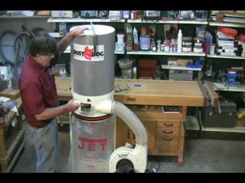 Jet 1-1/2 HP Dust Collector Presented by Woodcraft
