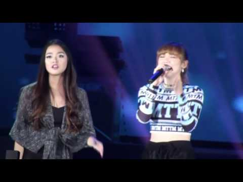 Jannine ft  Zana See you again cover live at Domrei Angkor Charity Concert 2016