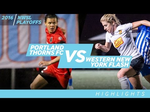 NWSL Semifinal: Portland Thorns FC vs. Western New York Flash: Highlights - Oct. 2, 2016