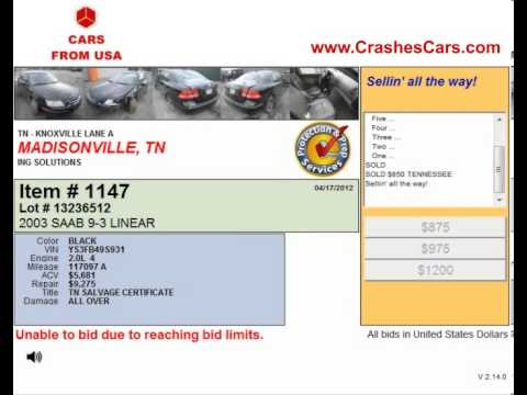 Car Auctions in Knoxville TN Offer Autos for Sale