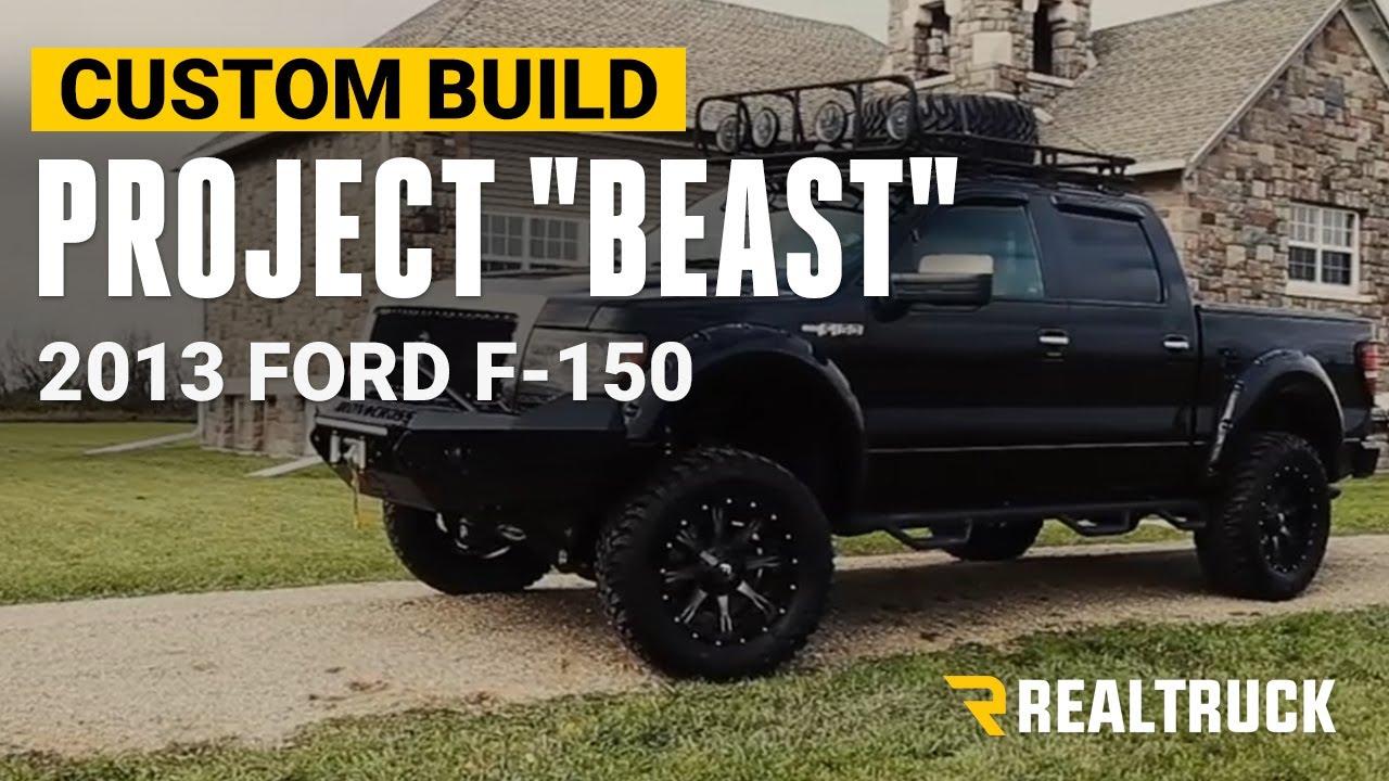 Beast Truck Custom Off Road Ford F150 Ecoboost Youtube