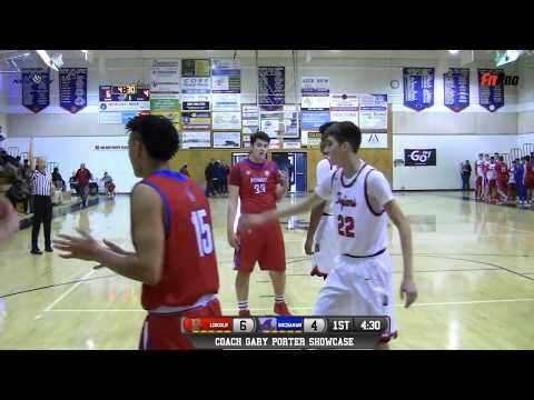 Lincoln vs Buchanan High School Boys Basketball LIVE 12217
